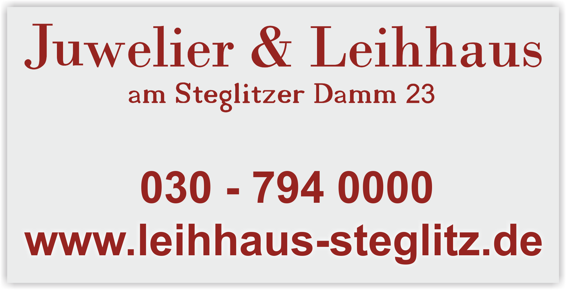 Juwelier Steglitz